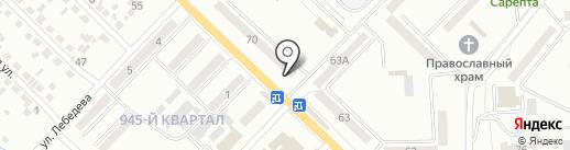 Стиль на карте Макеевки