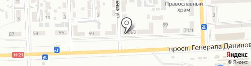 Люкс, КП на карте Макеевки