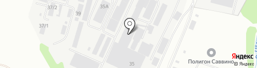 АЛБ на карте Железнодорожного