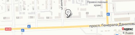 Ирина на карте Макеевки
