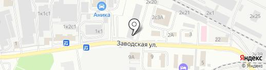 ПЕНТА на карте Щёлково