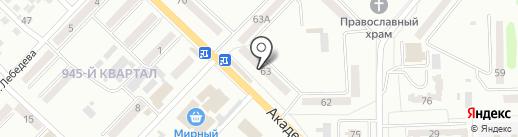АвансЪ, ПО на карте Макеевки