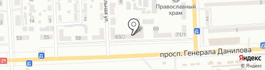 Сервисная фирма на карте Макеевки