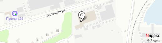 Компас на карте Щёлково