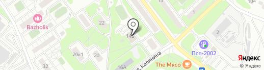 Комитет по управлению имуществом Администрации городского округа Железнодорожный на карте Железнодорожного
