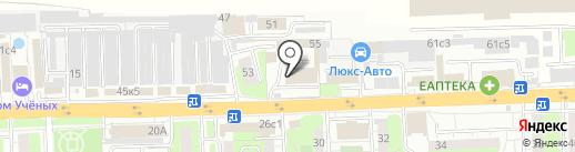 ТРК на карте Балашихи