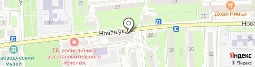 Союз пенсионеров Подмосковья на карте Балашихи