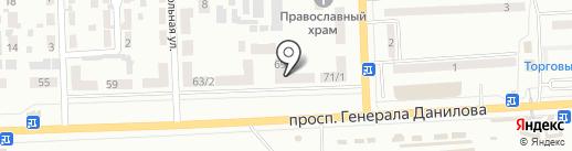 Отделение связи №26 на карте Макеевки