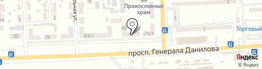 Бутичок на карте Макеевки