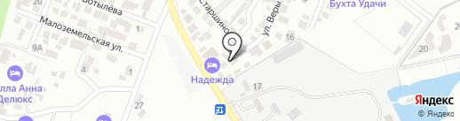 Максим на карте Геленджика