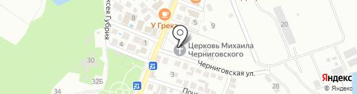 Геленджикское Подворье Свято-Троицкой Сергиевой Лавры на карте Геленджика