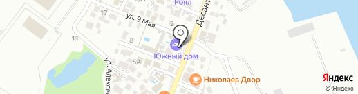 Хозяюшка на карте Геленджика