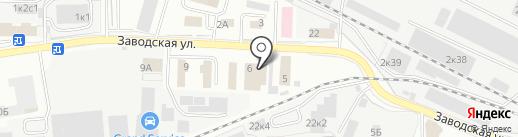 Инсталл на карте Щёлково