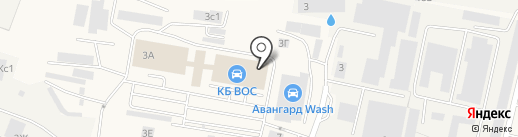 ВОС на карте Малаховки