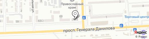 Для тебя на карте Макеевки