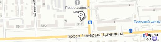 НикАвто на карте Макеевки
