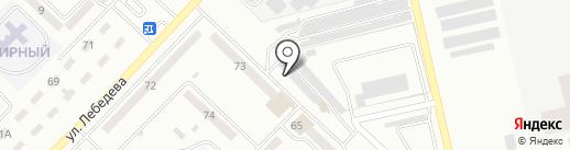 Томас на карте Макеевки