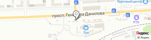 Бекон на карте Макеевки