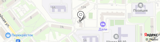 Жилкомсоюз на карте Балашихи