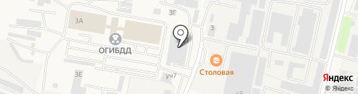 Велес на карте Малаховки