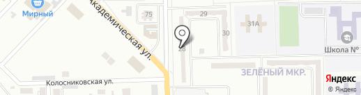 Флирт на карте Макеевки