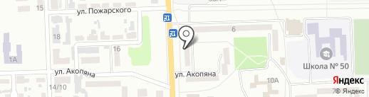 Эдем, магазин на карте Макеевки