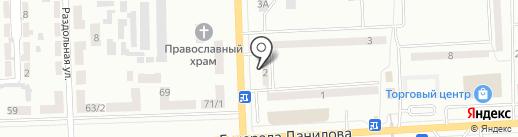 Одея, салон-магазин на карте Макеевки