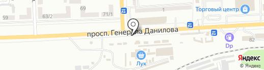 Салон цветов на карте Макеевки