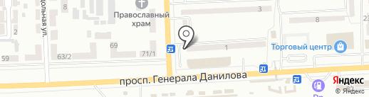 Вера на карте Макеевки