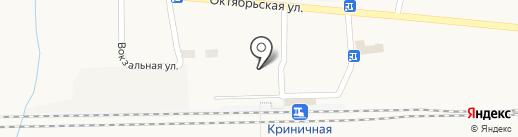 Банкомат, АБ Экспресс-Банк на карте Криничной