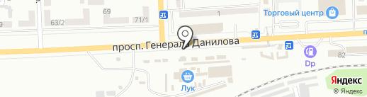 Мастерская по ремонту часов на карте Макеевки