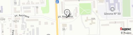 Элком на карте Макеевки