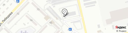 Магистраль на карте Макеевки