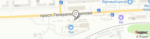 Магазин зоотоваров и рыболовных принадлежностей на проспекте Генерала Данилова на карте Макеевки