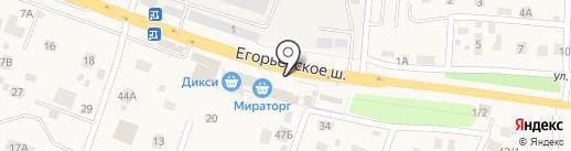 Дикси на карте Малаховки