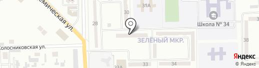 Окна-двери, магазин на карте Макеевки