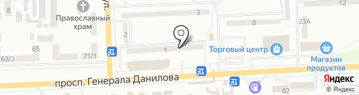 Салон на карте Макеевки