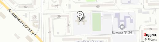 Территориальный центр социального обслуживания Горняцкого района на карте Макеевки