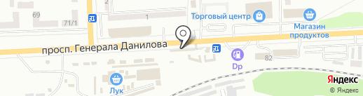 ЖЖУК на карте Макеевки