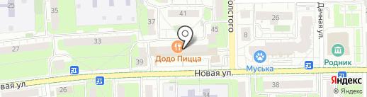 Магазин кожгалантереи на карте Железнодорожного