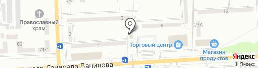 Алекс-строй на карте Макеевки