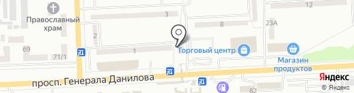 На рейде на карте Макеевки