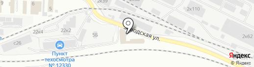 Круг на карте Щёлково