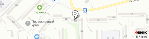 Станция скорой медицинской помощи на карте Макеевки
