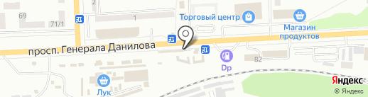 Мини ФиЕСТа на карте Макеевки