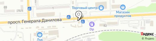 Клеопатра на карте Макеевки