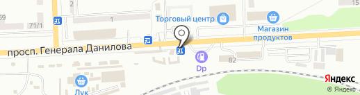 Визон на карте Макеевки