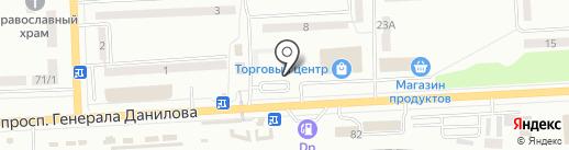 Автосалон на карте Макеевки