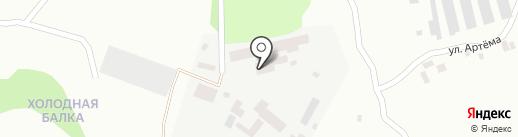 ФАКЕЛ на карте Макеевки