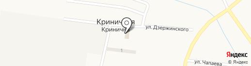 Парикмахерская, СПД Лабович Ж.Н. на карте Криничной